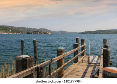 Pella, Lake Orta, Piedmont, Italy