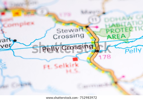 Pelly Crossing Canada On Map Stock Photo (Edit Now) 752983972 on native american tribes canada map, switzerland a map, canada on world map, canada physical map, turkey a map, ireland a map, canada home, canada on a globe, canada provinces map, canada national parks map, taiwan a map, canada map with rivers and lakes, puerto rico a map, canada on fire, north america and canada map, canada map cartoon, blank canada map, mexico a map, canada map with states,