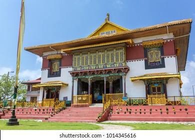 The Pemayangtsi Monastery near Pelling in the state of Sikkim, India.