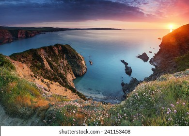 Pembrokeshire Coast Sunset
