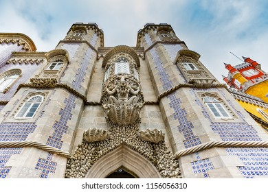Pena National Palace, Palacio da Pena, in Sintra, Portugal
