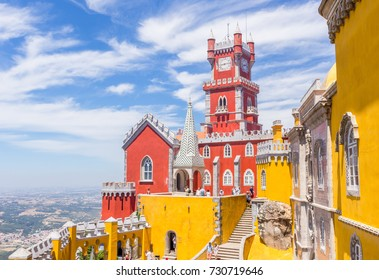 Pena palace of sintra,portugal