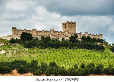 Penafiel Castle, Valladolid Province, Castile-Leon (Spain)
