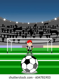 penalty from the point of view of the player who kicks the penalty