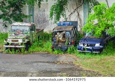 Penampang Sabah March 252018 Old Rusting Abandoned Four
