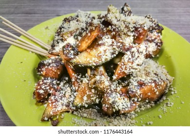 Penang fruit rojak, with fruits and shrinp paste is popular street food in Malaysia