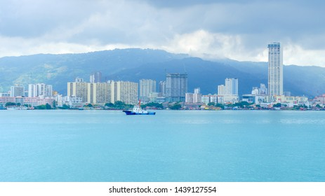 PENANG, MALAYSIA - 24 JUNE 2019: Penang is a Malaysian state located on the northwest coast of Peninsular Malaysia.
