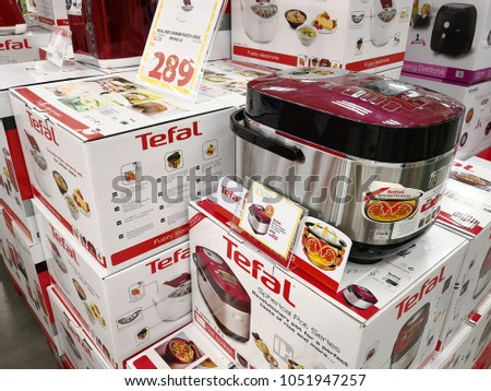 a6da1a416 PENANG MALAYSIA FEB 5 2018 Tefal Stock Photo (Edit Now) 1051947257 ...