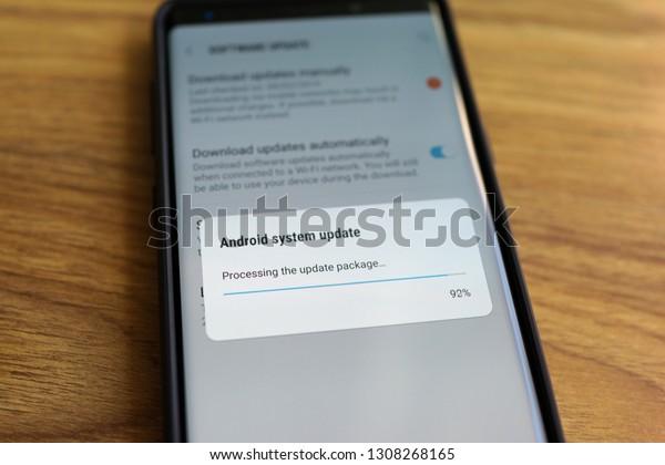 Penang Malaysia Feb 9 2019 Android Stock Photo (Edit Now
