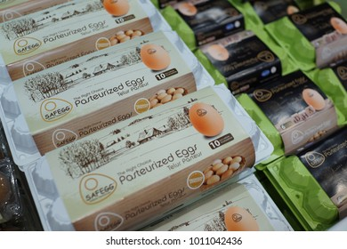 Pasteurized Eggs Stock Photos, Images & Photography