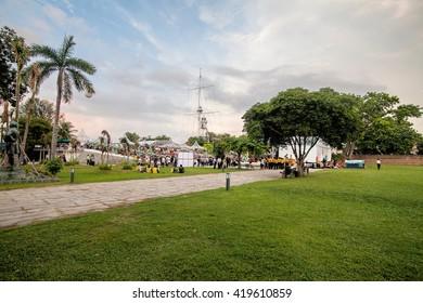 Penang Malaysia, January 2016 : Fort Cornwallis in George Town, Penang Malaysia