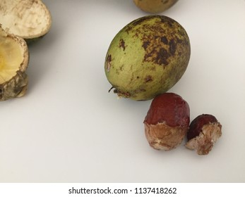 Penang, Malaysia, June 2018, Brazilian longan fruit, which is also known as Fijian Longan