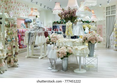 Penang malaysia november 24 2017 interior stock photo safe to use penang malaysia november 24 2017 interior of lovely lace baby fashion store junglespirit Gallery