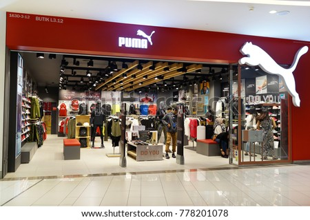 PENANG MALAYSIA NOVEMBER 24 2017 Puma Stock Photo (Edit Now ... 73bff3e10fc6