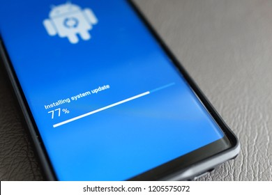 Android Update Images, Stock Photos & Vectors | Shutterstock