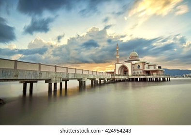 Penang port mosque