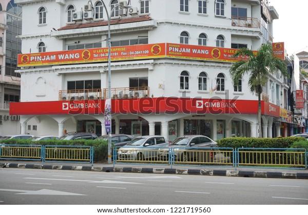 Penangmalaysia 5 Nov 2018 Cimb Bank Stock Photo (Edit Now