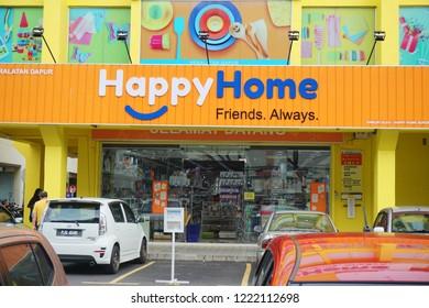 PENANG,MALAYSIA ,5 NOV 2018 : Happy Home Superstore Shop in Seberang Jaya, Penang.