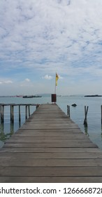 PENANG,MALAYSIA – DECEMBER 20,2018 : Tan jetty is one of the six clan jetties in George Town. It is located between Chew Jetty and Lee Jetty.