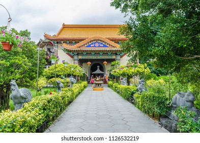Penang,Malaysia - July 19,2015 : Kek Lok Si temple a Buddhist temple situated in Air Itam in Penang.It is one of the best known temples on the island.