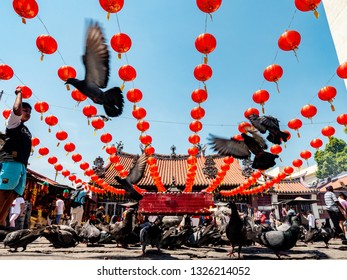 PENANG,MALAYSIA-Feb10,2019Guan Ying Penang Temple ,Chinese people come to respect and wish their hope in Malaysia.
