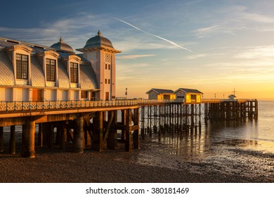 Penarth Pier, Vale of Glamorgan, Wales, U.K.