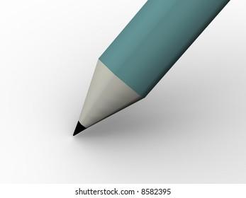 Pencil. 3d