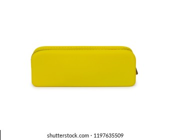 Pencil box isolated on the white background