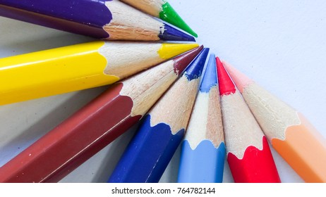 pencil color on background