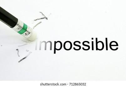 Pencil Eraser  Erase impossible text