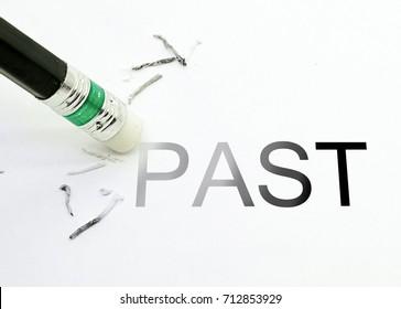 Pencil Eraser  Erase past text