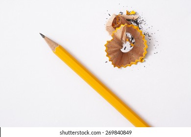 pencil isolated on white background