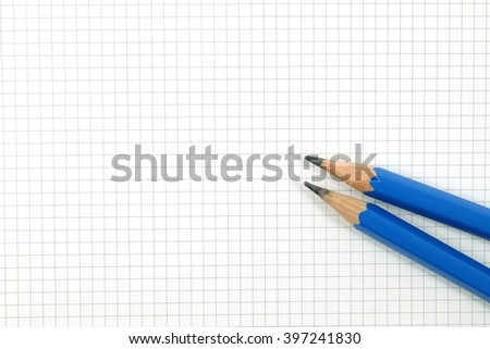 pencil on drafting paper graph paper stock photo edit now