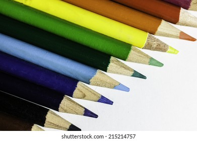 pencils colored