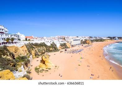 Peneco beach in Albufeira
