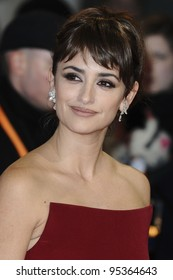 Penelope Cruz arriving for the BAFTA Film Awards 2012 at the Royal Opera House, Covent Garden, London. 12/02/2012  Picture by: Steve Vas / Featureflash