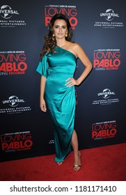 Penelope Cruz at the Los Angeles Special Screening of 'Loving Pablo' held at the London Hotel in West Hollywood, USA on September 16, 2018.