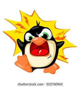 Penguin, facial expressions