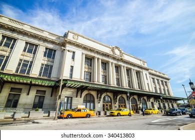 Penn Station in Baltimore, Marryland USA
