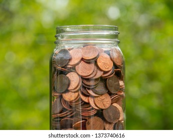 Pennies in a Jar, Centered