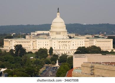 Pennsylvania Avenue with Capitol