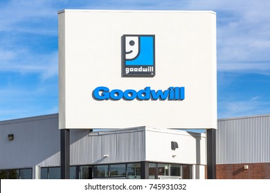 Pennsylvania Philadelphia October 2017: A Goodwill Store.  Goodwill helped more than 26.4 million people train for careers IV
