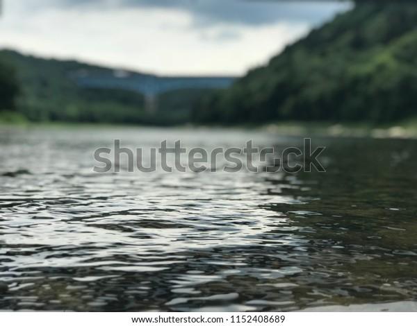 Pennsylvania shallow stream