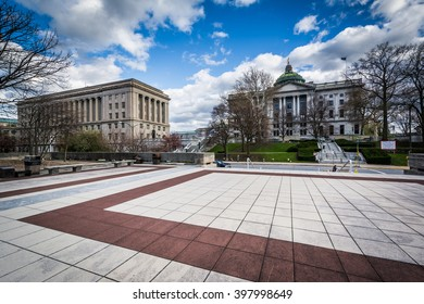 The Pennsylvania State Capitol Building and State Capitol North Office Building, in downtown Harrisburg, Pennsylvania.