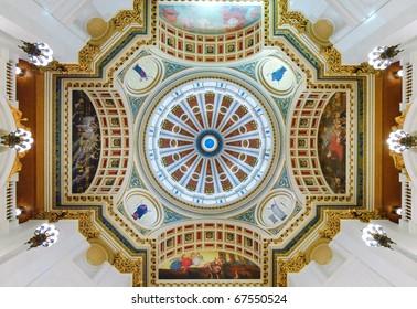 Pennsylvania State Capitol Building rotunda