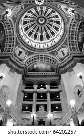 Pennsylvania State Capitol - Inside the rotunda at the Pennsylvania State Capitol in Harrisburg, PA.