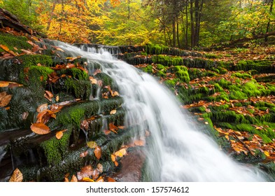 Pennsylvania Waterfall Ricketts Glen Allegheny Mountains