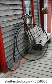 Penny Farthing Bike in Alaska, USA