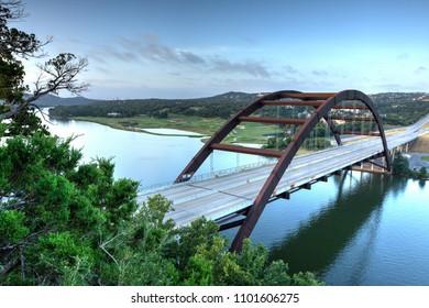 Pennybacker Bridge in Austin, TX