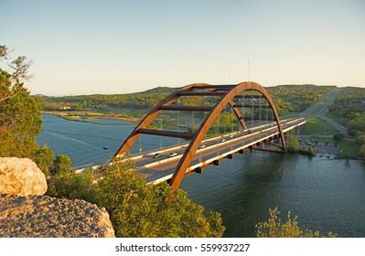 Pennybacker Bridge near Lake Austin near Austin Texas